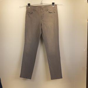 Ann TaylorLoft 30/10 Modern Skinny Lite Gray Jeans